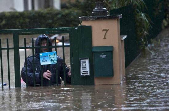 Alluvione a Roma gennaio 2014