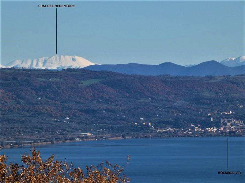 Bolsena e i monti Sibillini