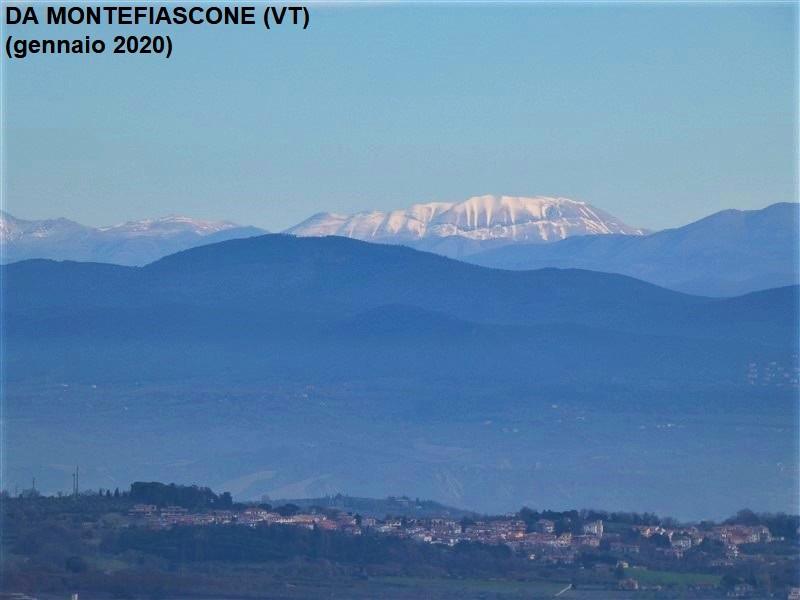 Monti Sibillini visti da Montefiascone