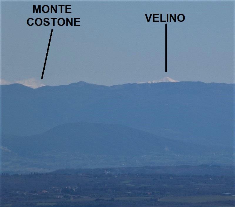 Monte Velino e Costone da Montefiascone