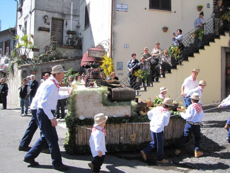 Barabbata 2014 Marta (VT), festa Madonna del Monte