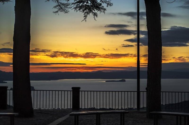 Belvedere di Montefiascone sul lago di Bolsena
