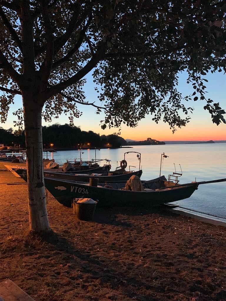 Borgo dei pescatori di Marta sul lago di Bolsena