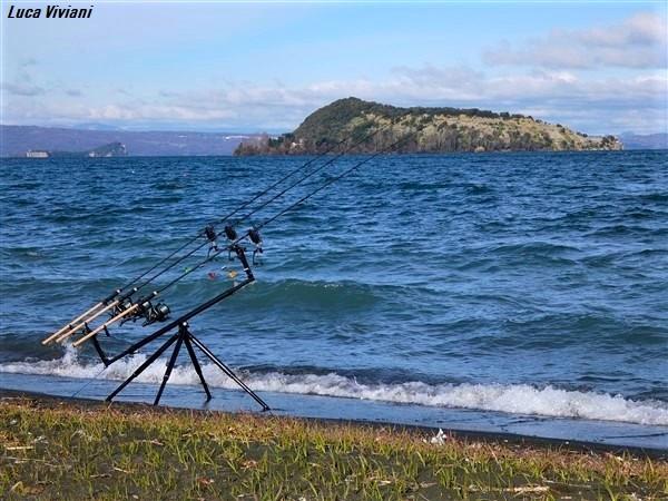 Pesca nel Lago di Bolsena