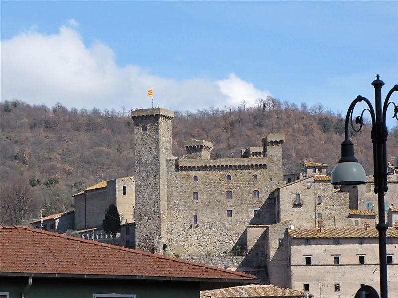 Il castello di Bolsena