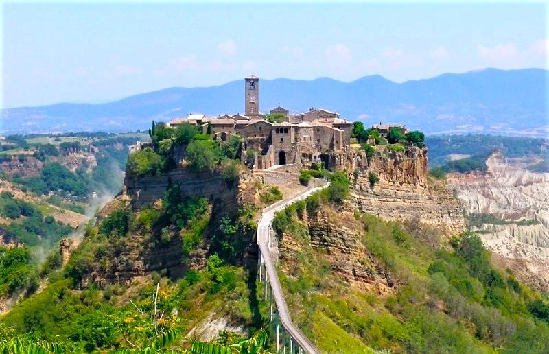 Civita Di Bagnoregio La Valle Dei Calanchi Meteo Marta It