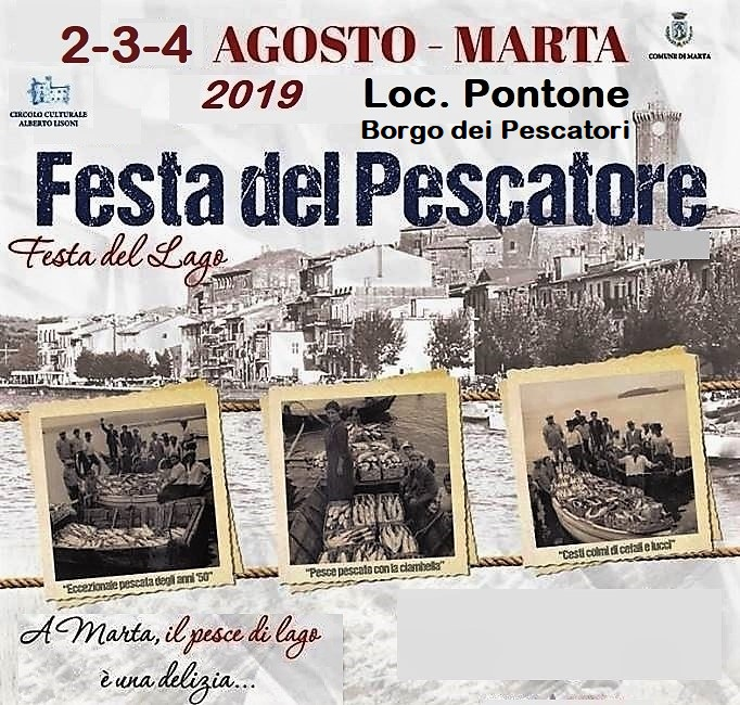 Festa del pescatore a Marta