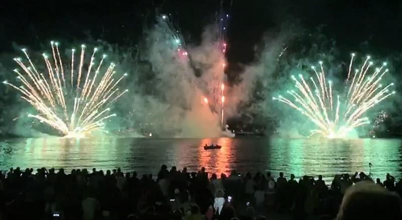 Fuochi di Capodimonte, lago di Bolsena