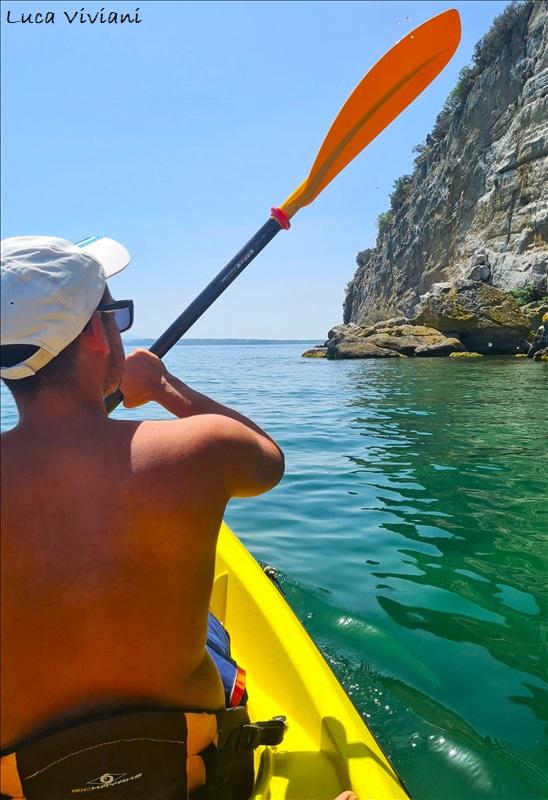 Kayak lago di Bolsena