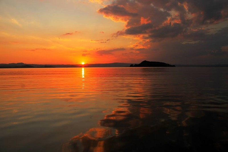 Isola Martana, lago di Bolsena