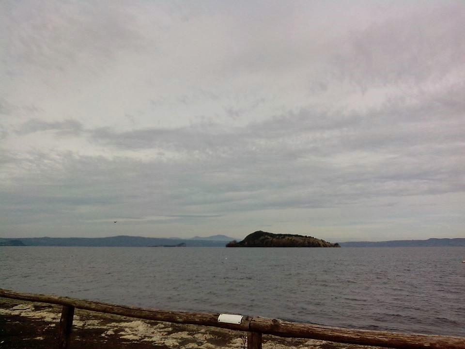 L'isola Martana nel Lago di Bolsena
