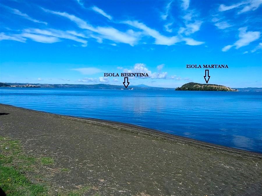 Isole del lago di Bolsena