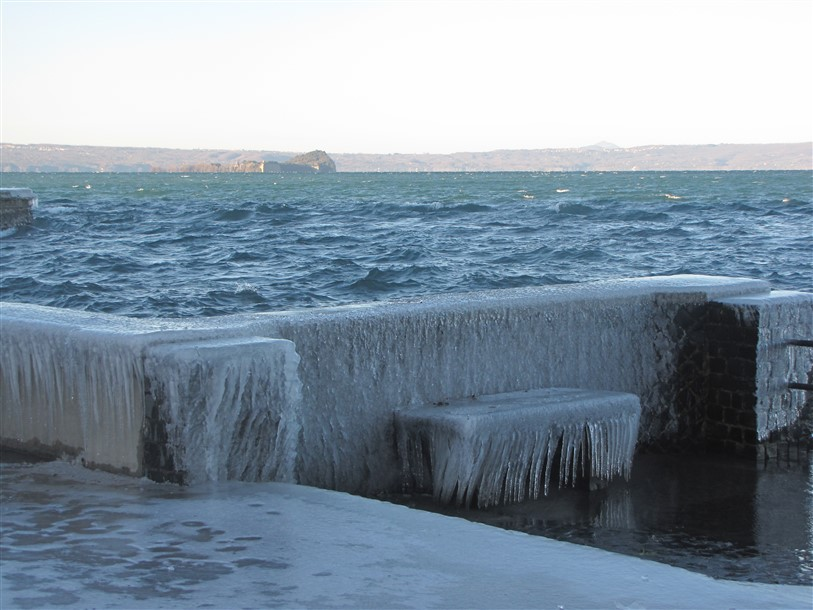 Lagheggiata a Marta sul lago di Bolsena