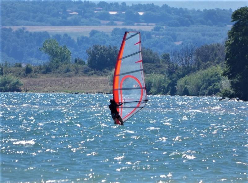 Windsurf lago di Bolsena
