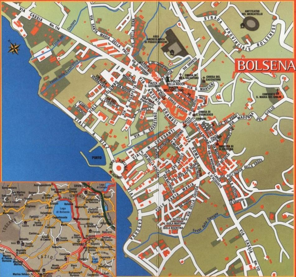 Mappa di Bolsena