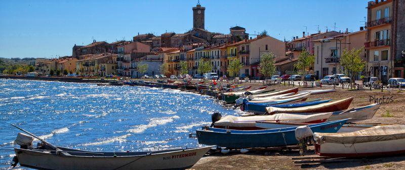 il comune di marta (vt), tra pesca e turismo sul lago di bolsena ... - Soggiorno Lago Di Bolsena