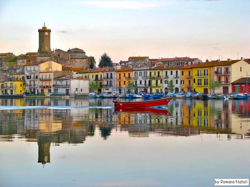 Marta sul lago di Bolsena, Viterbo