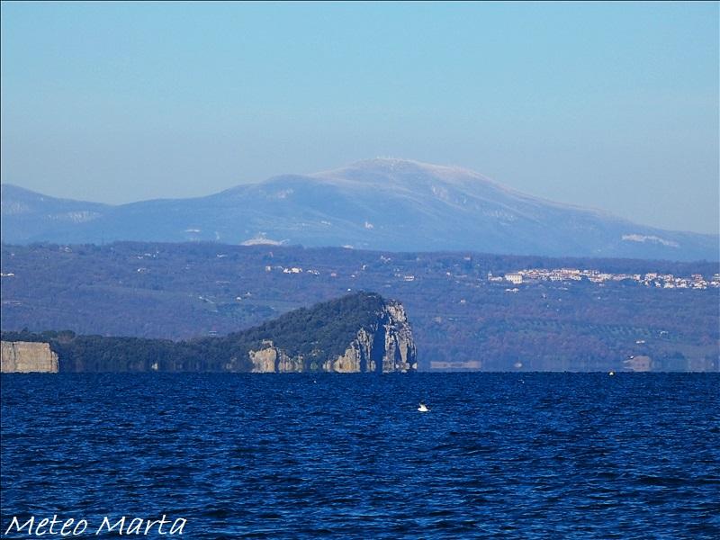 Lago di Bolsena e monte Amiata