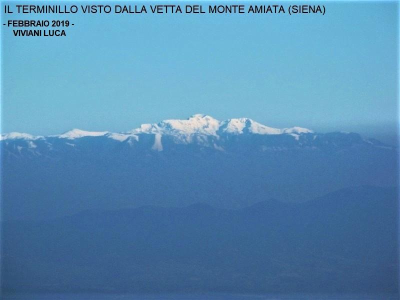 Terminillo dal monte Amiata