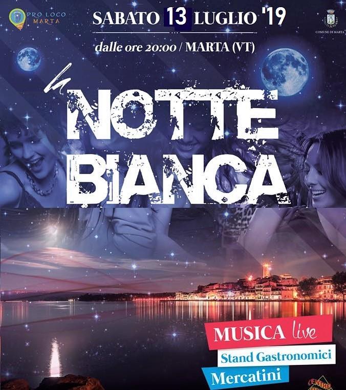La notte bianca di Marta (VT)