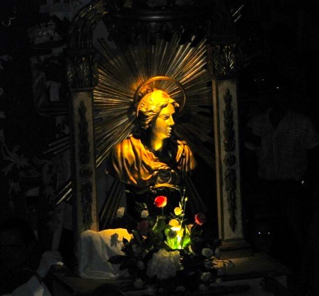Santa Marta, patrona del paese di Marta
