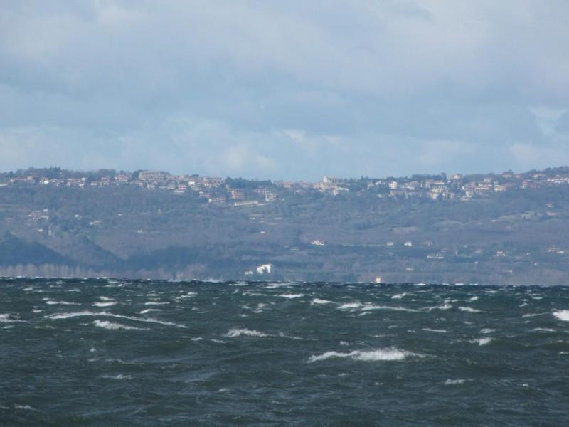 Panorama da San Lorenzo Nuovo verso il lago di Bolsena
