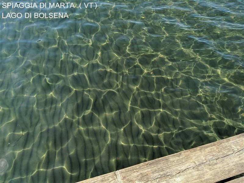 Spiaggia lago di Bolsena