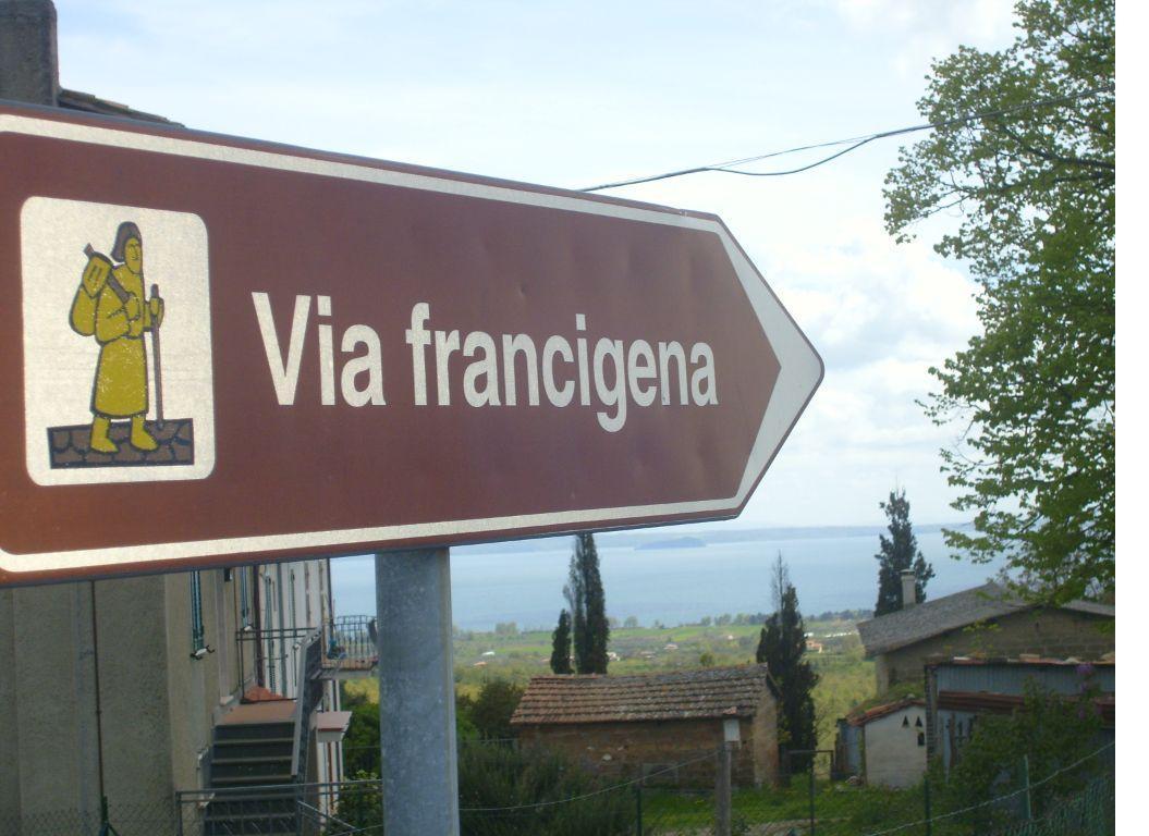 La via Francigena a San Lorenzo Nuovo